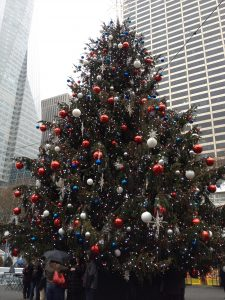 NYC Bryant Park - Christmas in New York City