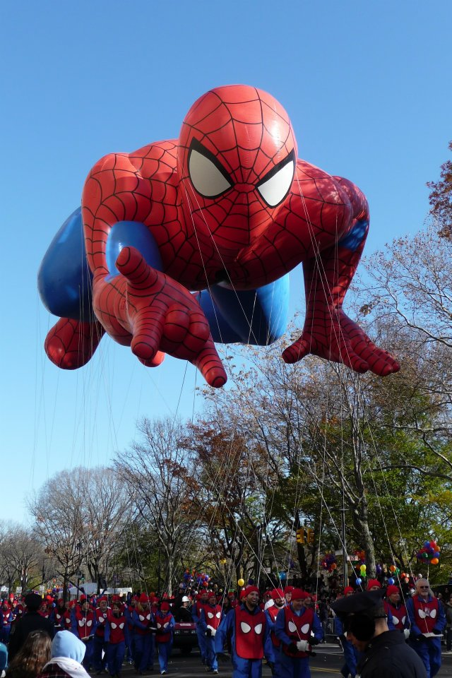 NYC Macys Thanksgiving Parade Spiderman
