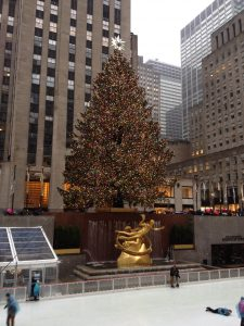NYC Rockefeller Center Tree - Christmas in New York City