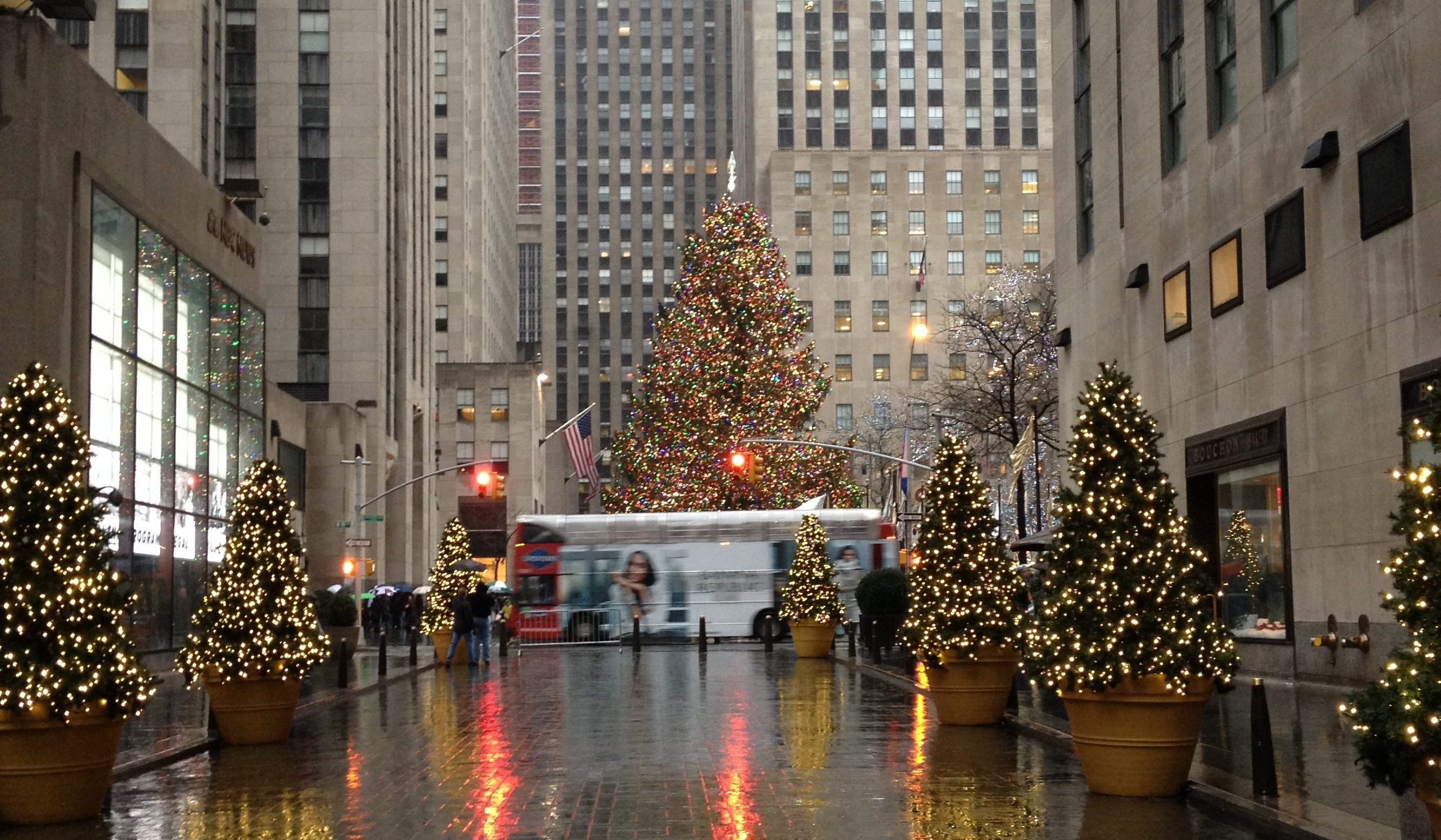 Christmas in New York City Wanderlust on a Bud