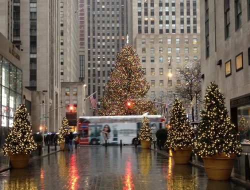 NYC Rockefeller Center - Christmas in New York City