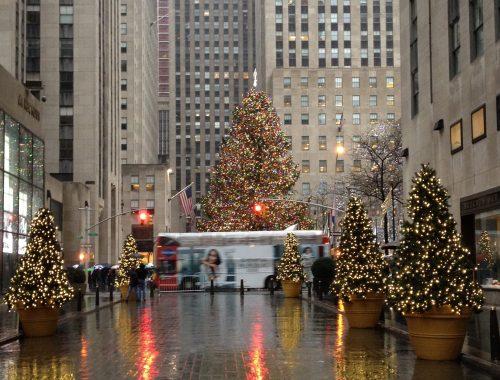 NYC Rockefeller Center - Christmas in New York City