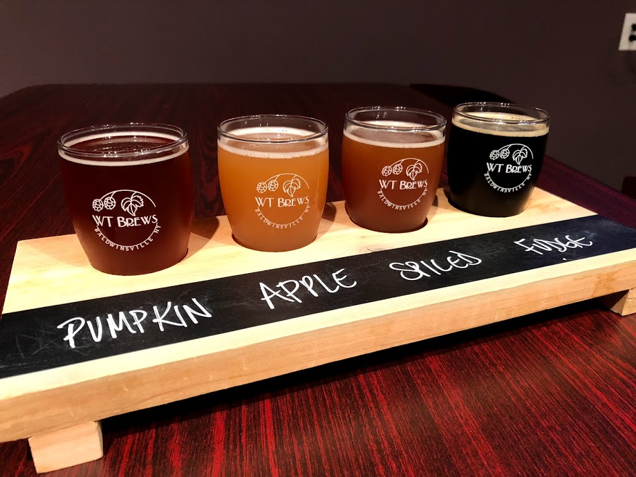 WT Brews Flight