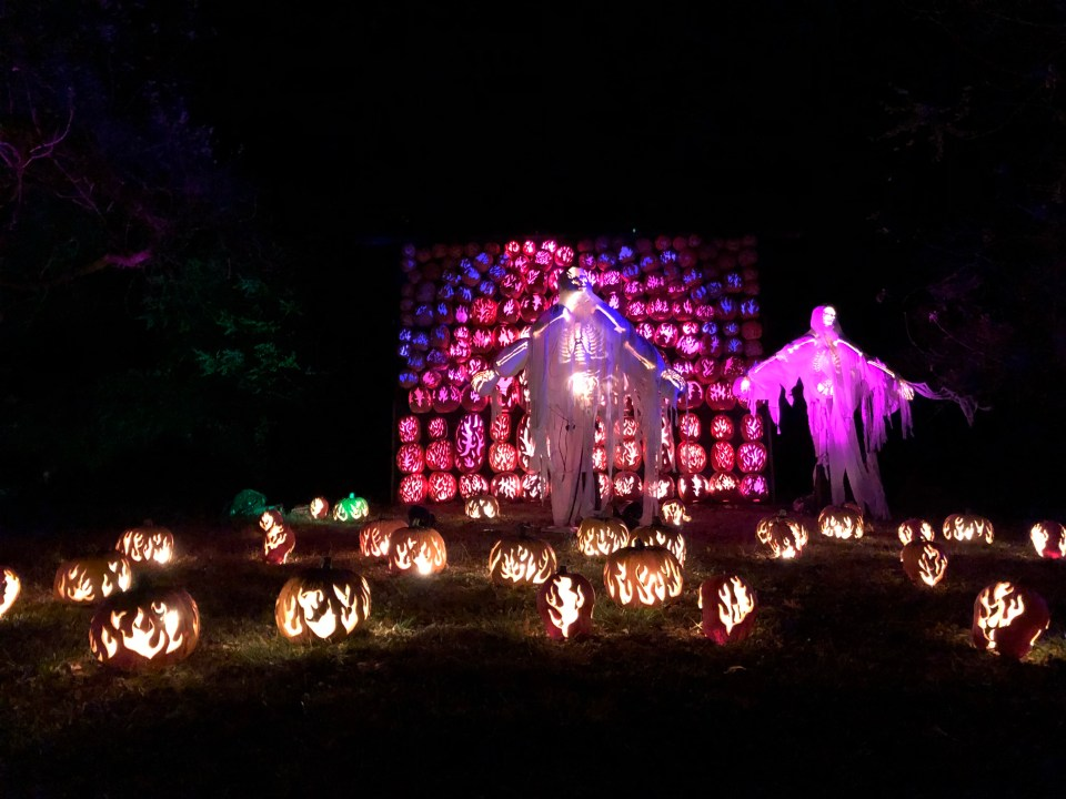 Great Jackolantern Blaze Ghosts