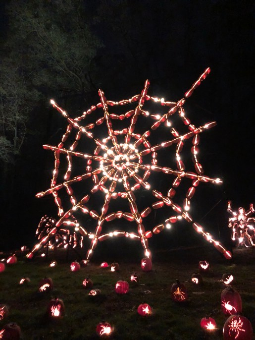 Great Jackolantern Blaze Spiderweb