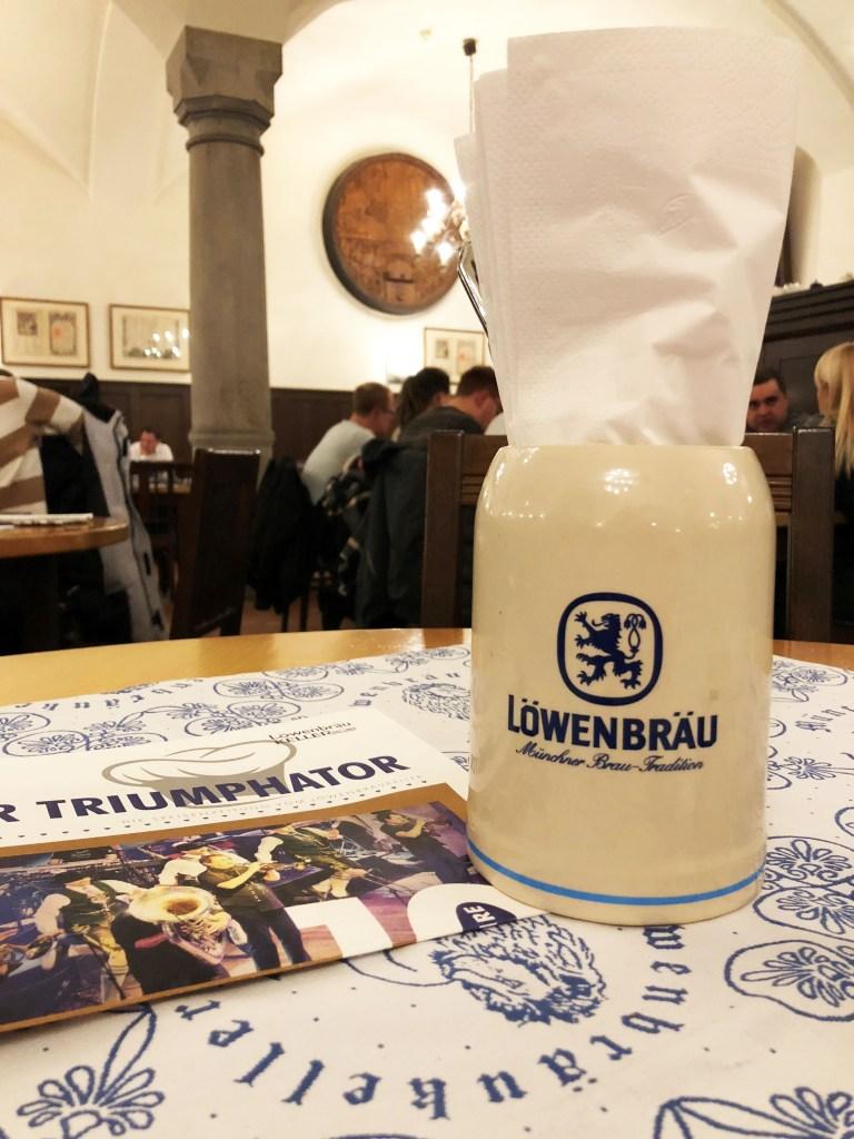Lowenbrau Brewery Mug Munich