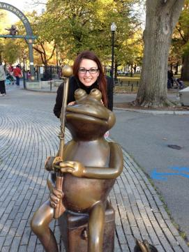 Boston Common Frog