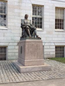 Boston - Harvard Statue