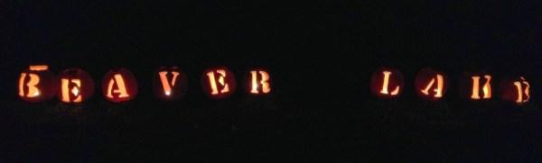 Enchanted Beaver Lake Pumpkins
