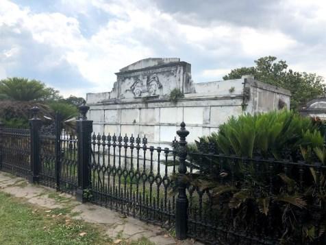 New Orleans - Lafayette Cemetery Firefighter Mausoleum