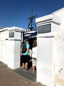 New Orleans - St Louis Cemetery Entrance