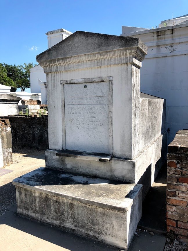 New Orleans - St Louis Cemetery Plessy Mausoleum
