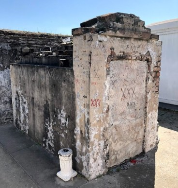 New Orleans - St Louis Cemetery Voodoo Markings
