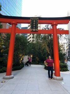 Japan - Shrine in Ginza