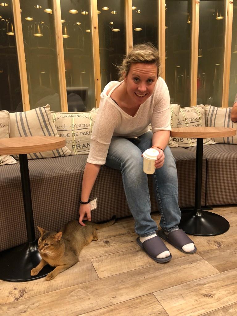 Japan - Akihabara Cat Cafe with Kate
