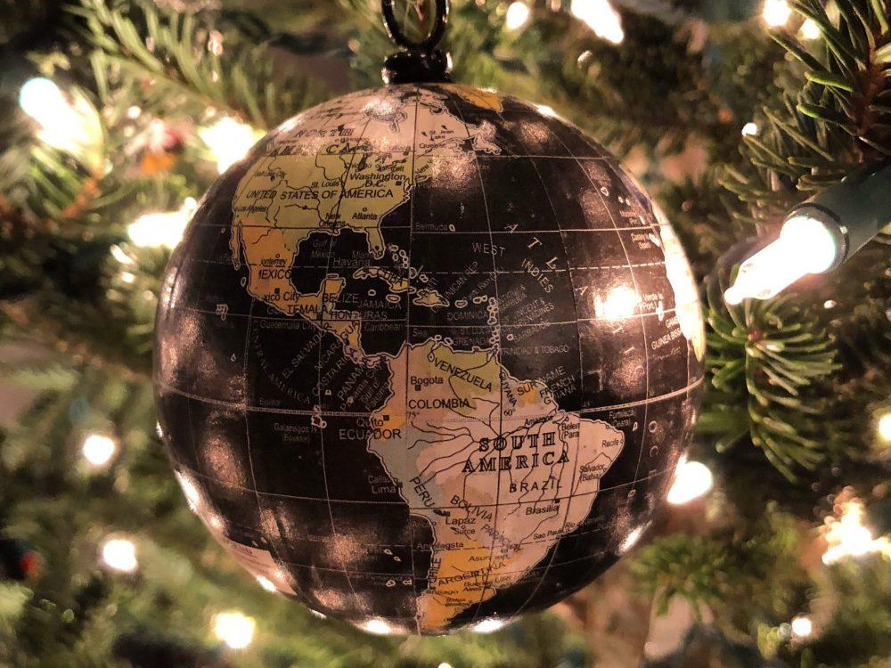 Christmas World Ornament