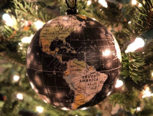 Christmas World Ornament