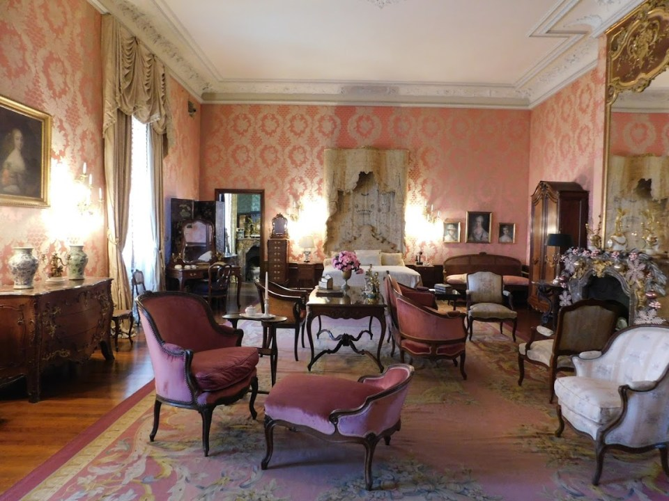 Marble House Pink Room