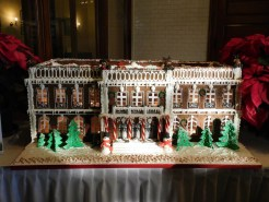 The Elms Gingerbread House