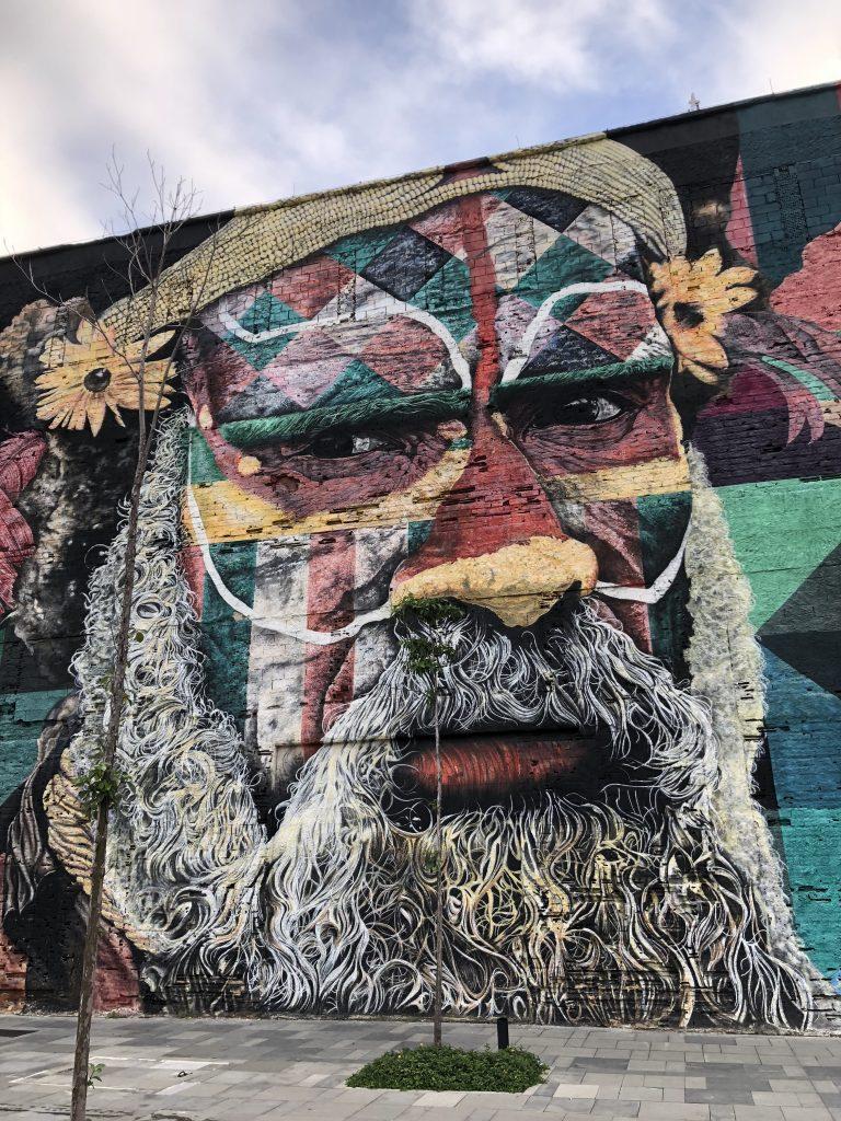 Olympic Boulevard Kobra Mural Brazil 2