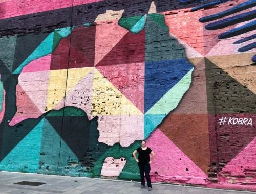 Olympic Boulevard Kobra Mural Brazil 5