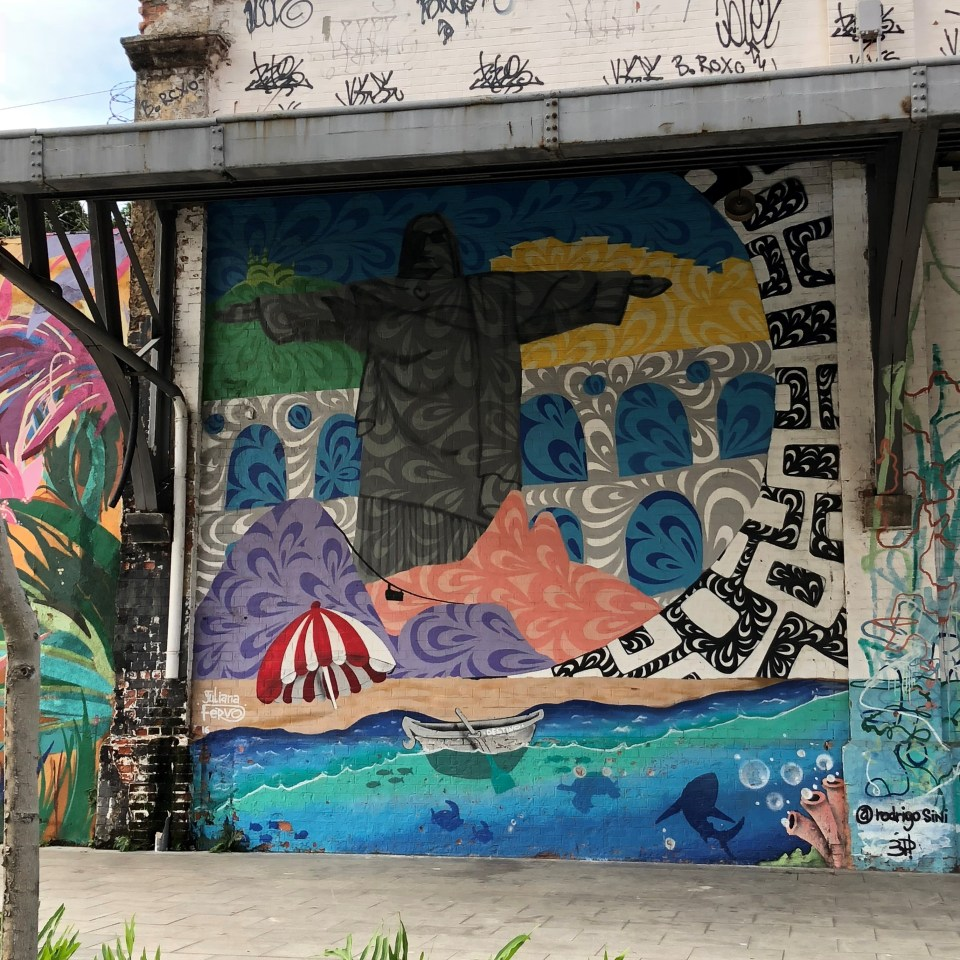 Rio Olympic Boulevard Mural 1