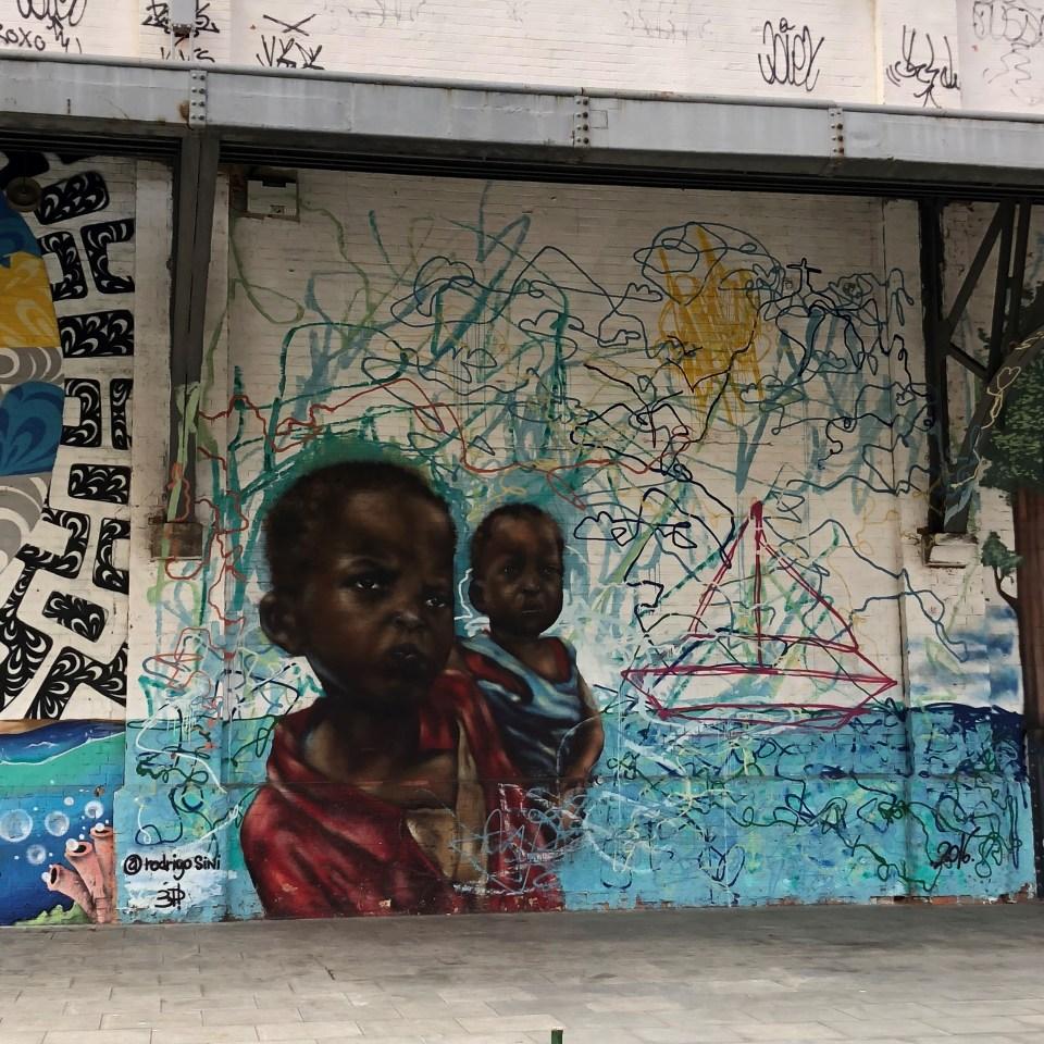 Rio Olympic Boulevard Mural 2