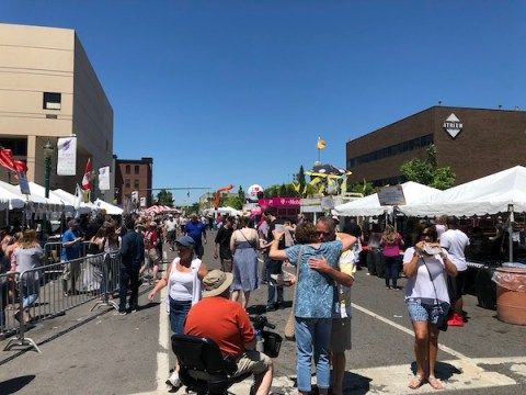 Taste of Syracuse Crowd