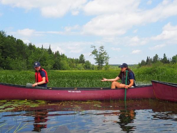 The Wild Center Canoe Trip
