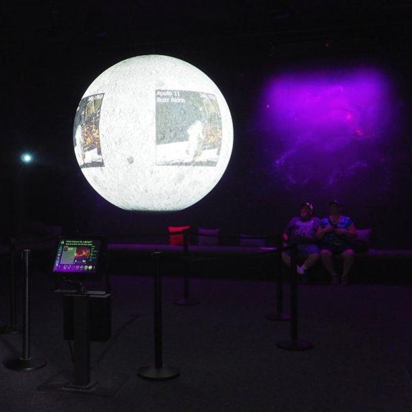 The Wild Center Planet Exhibit