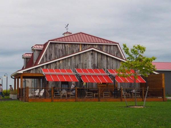 Oak and Apple Cider Barn