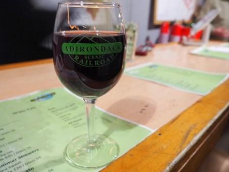 Adirondack Scenic Railroad Wine