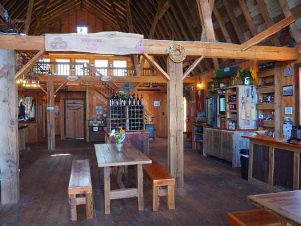 Brimfield Farm Winery Inside