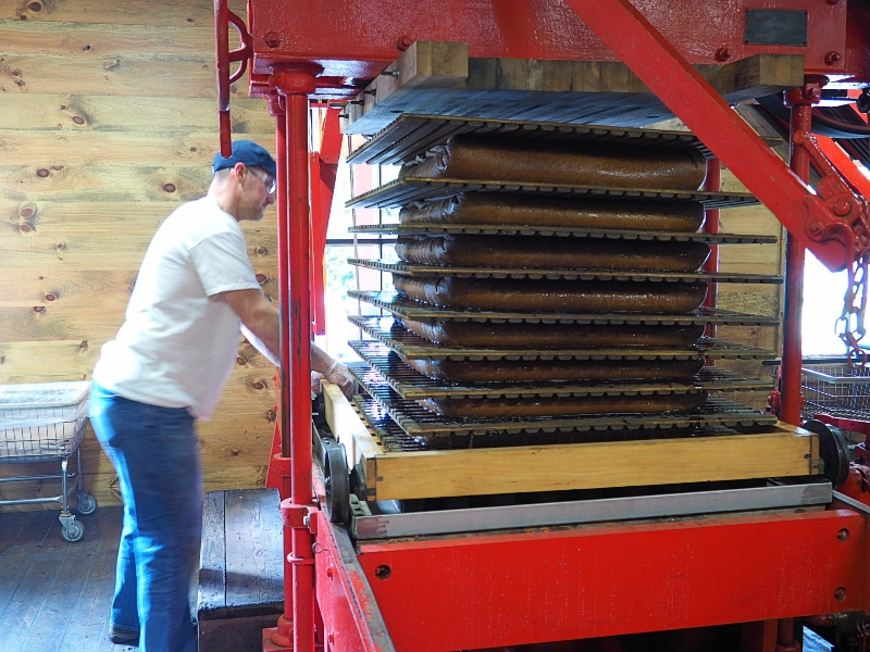 Clinton Cider Mill Pressing