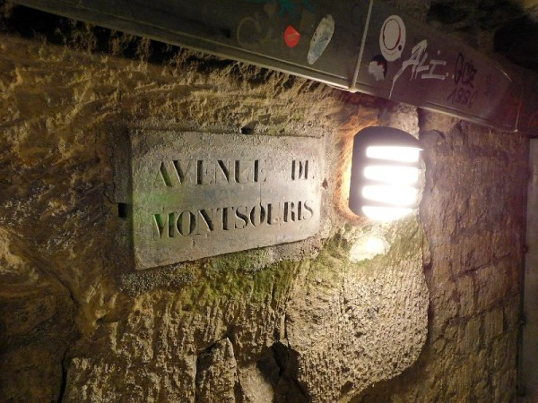Paris Catacombs Avenue