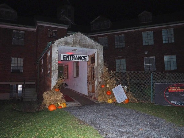 Rolling Hills Asylum Entrance - Most Haunted Place in New York