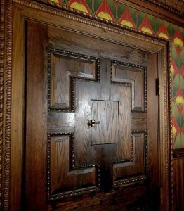 Visit Saranac Brewery Speakeasy Door