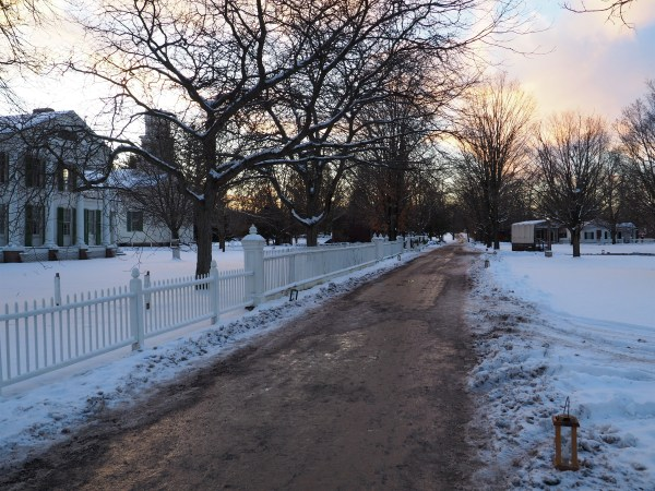 Genesee Country Village Sunset