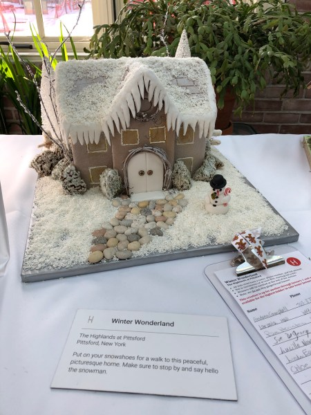 Rochester Gingerbread House