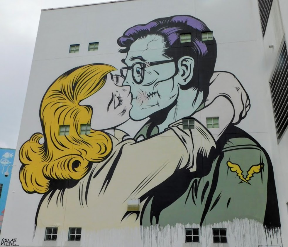 DFace Mural 2 Wynwood