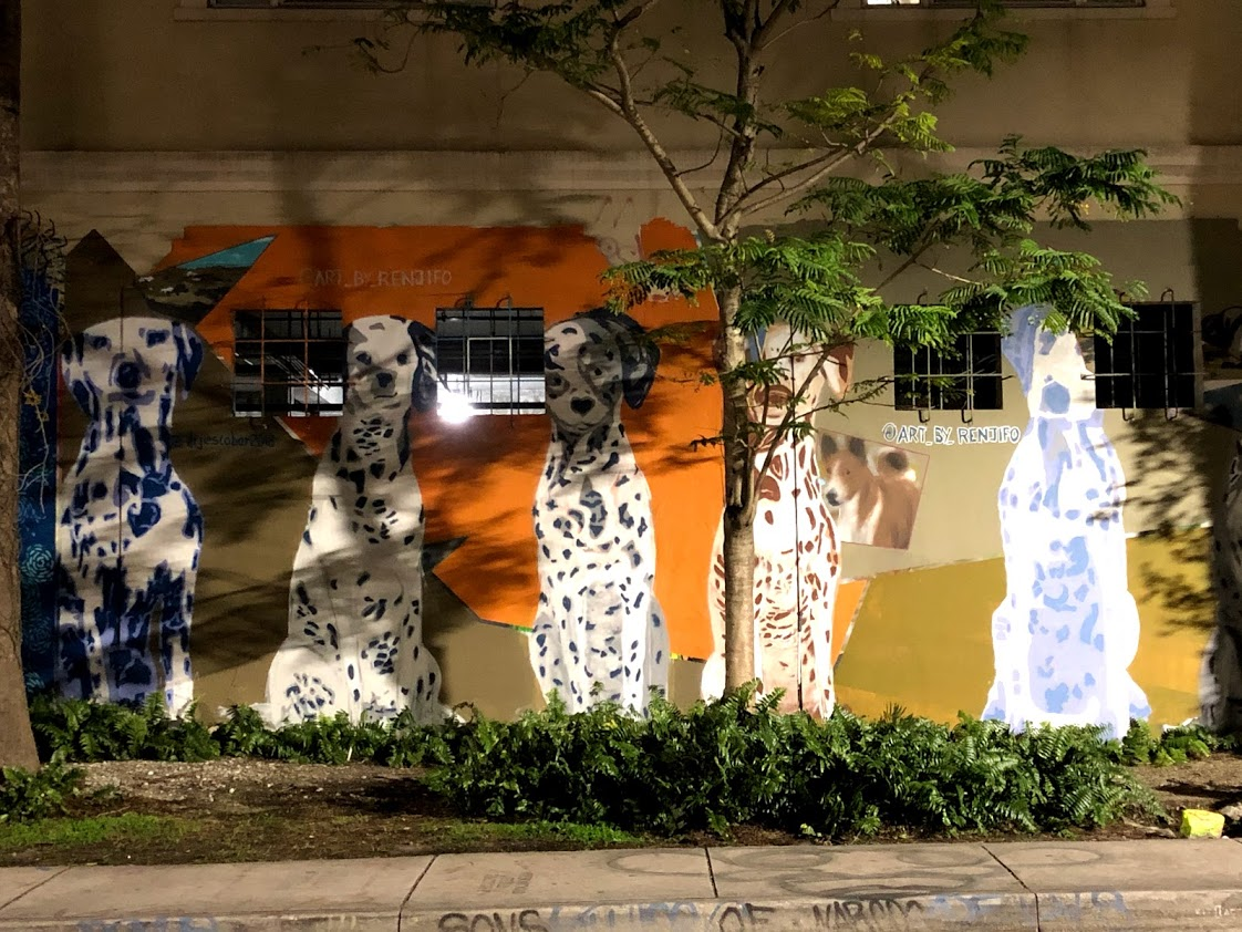 Dalmatians Mural Wynwood