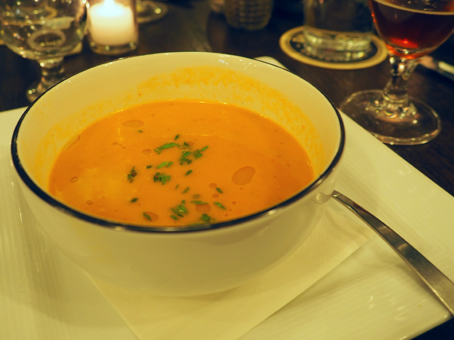 Ommegang Lobster Bisque