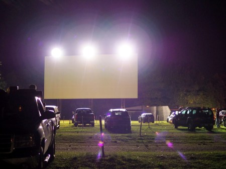 drive-in movie theater in Syracuse