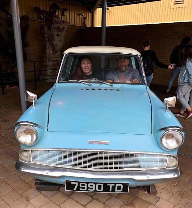 Harry Potter Studio Tour Car