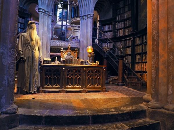 Harry Potter Studio Tour - Dumbledore