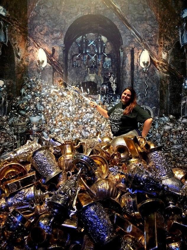 Harry Potter Studio Tour Gold Pile