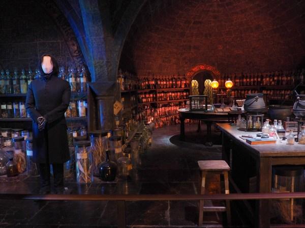 Harry Potter Studio Tour - Snape