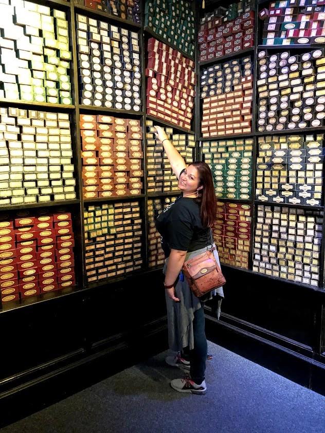 Harry Potter Studio Tour Wand Shop