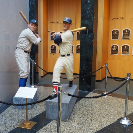 Baseball Hall of Fame - Babe Ruth Statue