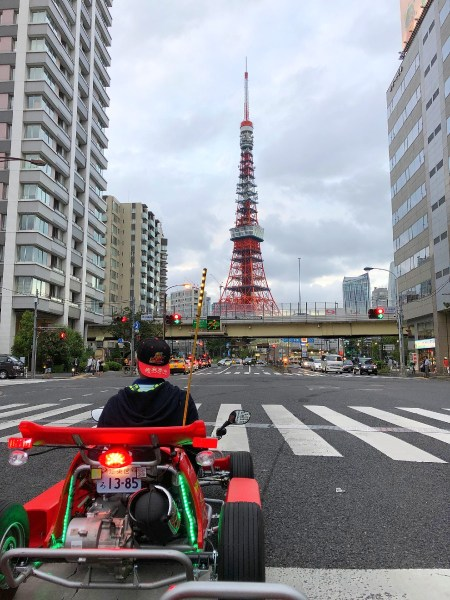 Go Kart with Tokyo Tower